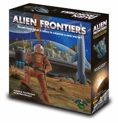 Alien Frontiers is one of my favourite worker placement games, I am a fan of dice rolling if it's done correctly and I tell you Alien Frontiers has a pretty awesome way of integrating dice rolling and worker placement into one game.