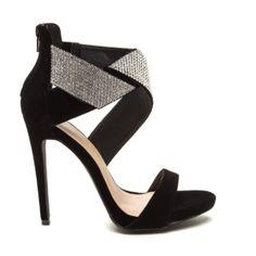 Wrap Your Present Jeweled Velvet Heels http://shoesjunkie.com/product/wrap-present-jeweled-velvet-heels-2/