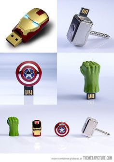 The avengers: USB key Buy Network Hardware & Telecomm Equipment. Top Brands at 50-90% off www.ModernEnterpr... or call 1-866-305-8597