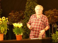 Bill Oddie at The Royal Horticultural Society show