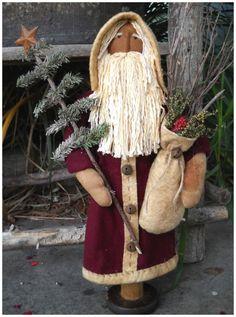 Olde Santa Makedo Instant Download e Pattern