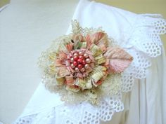 Gorgeous chic flower ♥