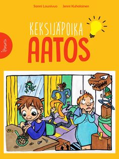 Aatoksen lempipuuhaa oli vekottimien rakentelu, eikä hän koskaan muuta tehnytkään. Lukemaan tai laskemaan Aatos ei oppinut, mutta pojan käsissä syntyi keksintöjä, jotka saivat kaikki hyvälle tuulelle. Sanni Lounivuon viisas ja hullutteleva satu kertoo erilaisuuden hyväksymisestä ja siitä, että erityislapsikin voi olla erityisen lahjakas. Ikäsuositus 4+ Grimm, Peanuts Comics, Literature, Kindergarten, Comic Books, Audio Books, Kids, Gardening, Literatura