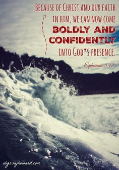 Because of Jesus, we can now boldly approach the throne of God. We can speak to Him directly and experience His love first-hand.