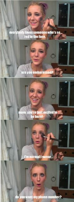 jenna marbles - drunk makeup tutorial!! HILARIOUS!!!!!!
