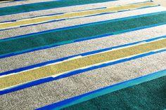 Brassy Apple: DIY outdoor painted rug