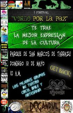 "FESTIVAL ""VERDE POR LA PAZ""..  http://desktopcostarica.com/eventos/2013/festival-verde-por-la-paz"