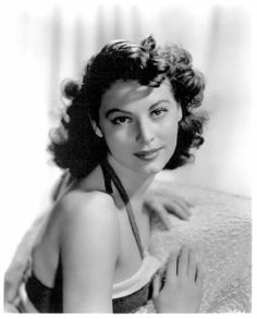 image of a young and beautiful Ava Gardner