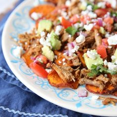 Sweet Potato Nachos
