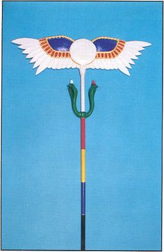 Wand of the chief adept of the Hermetic Order of the Golden Dawn