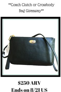 #WIN ME!! Coach-Clutch-or-Crossbody-#giveaway