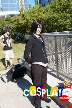 Sebastian Michaelis Cosplay from Kuroshitsuji II at FanExpo Canada