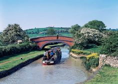 Travel the canals on a narrow boat