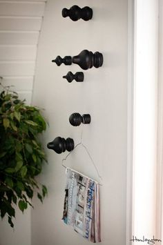 Clever Ways to Use Curtain Hardware That Have Nothing to Do With Windows   Rods and brackets don't only have to live on your window treatments. Consider using them as alternatives in the kitchen, bathroom, and beyond.