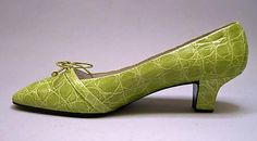 House of Dior | Shoes | French | The Met