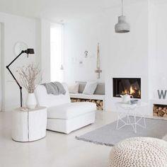 Espaço branquinho pra inspirar essa sexta ✨ #seinspirecommenos #simplicidade #arquitetura #minimalismo #menosémais #allwhite