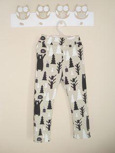 Spodnie MILI w miski ocieplane 56-86 w Mili - kids fashion na DaWanda.com