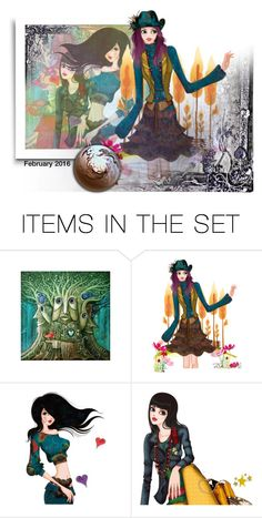 """""""Untitled #25255"""" by lizmuller ❤ liked on Polyvore featuring art"""