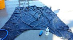 Blankets - Cleaning, Waterproofing, Using : How to clean horse blankets and restore the waterproofing to turnouts! uses safe cleaning chemicals for the horse - water or vinegar and water!