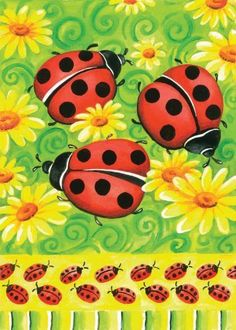 Ladybugs on Green Garden Flag by Toland Home Garden. $13.22. Heat sublimated process permanently dyes flag fabric for long-lasting color. Toland Flags are made from durable 600 denier polyester. Decorative Art Flag. Toland Flags are UV, Mildew, and Fade Resistant. All Toland Flags are machine washable. Ladybugs on Green Garden Flag 12-1/2 by 18