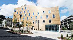 #architecture of Hotell Stavanger sentrum - Comfort Hotel Square #nordicchoicehotels