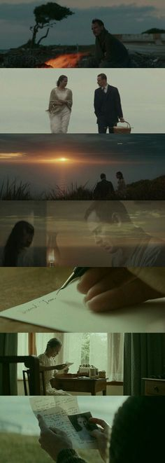 The Light Between Oceans (2015) A beautiful romantic film directed by Derek Cianfrance. DOP: Adam Arkapaw