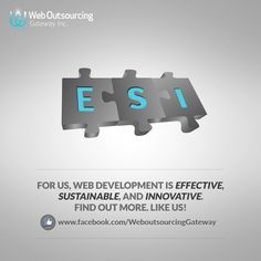 For us, web development is EFFECTIVE, SUSTAINABLE, and INNOVATIVE. Inquire NOW! #WebDevelopment #WOGInc