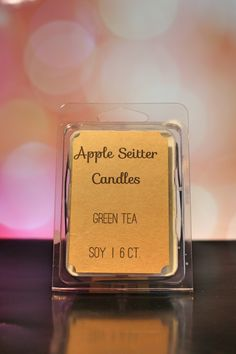 A personal favorite from my Etsy shop https://www.etsy.com/listing/287629475/all-natural-green-tea-wax-melt