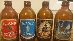 Apparently old bottles are a thing ... discuss From @priest666_  @halifaxnoise I'll keep the theme going I suppose! Some relics pulled from under the old deck at the family cottage in Hubbards  #beer #vintage #old #bottles #olands #novascotia Halifax  #halifaxnoise