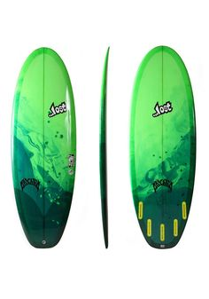 #planetsports LOST - Couch Potato 5´9 Surfboard clear