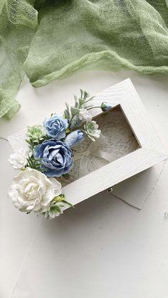 Rustic Wedding, Ivory Wedding, Wedding Country, Country Weddings, Vintage Weddings, Lace Weddings, Ring Holder Wedding, Ring Pillow Wedding, Flower Box Gift