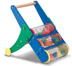 Melissa and Doug Rattle Rumble Push Toy - Get ready to rumble with the Melissa and Doug Rattle Rumble Push Toy . Three clear cylinders spin and make the colorful objects tumble and dance. Toddler Toys, Baby Toys, Kids Toys, Push Toys, Baby Month By Month, Educational Toys, So Little Time, Cool Toys, Wooden Toys