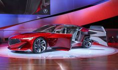 """Acura says the car's key design theme, referred to as """"quantum continuum,"""" takes the structure and m... - Rod Hatfield, TheNowDevice"""