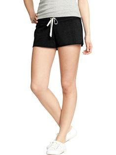 Women's Drawstring-Terry Shorts   $10.94 #Fitness #Healthy #WorkoutClothes #Women  Visit WISHCLOUDS.COM for more...