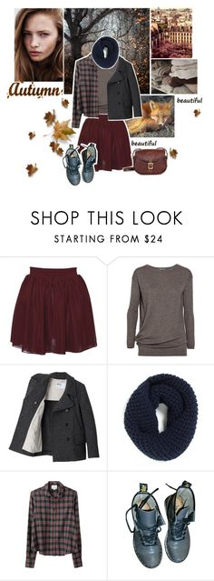 """""""Autumn"""" by suusje89 ❤ liked on Polyvore featuring Hearts & Bows, Vince, Margaret Howell, Monsoon, Band of Outsiders, Dr. Martens, Lanvin and J.W. Hulme Co."""