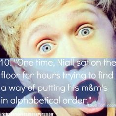 Babe... you can't put m's in alphabetical order. You're such a special snowflake but I love you for it. Haha. xx (: