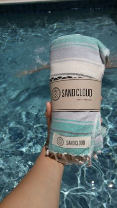 Just got my SandCloud Baja Beach towel. It is fantastic and best part 10% of their net profits goes towards marine conservation. Amazing company that even holds beach clean ups in  San Diego!  Follow this pin and get 25% off your first order!