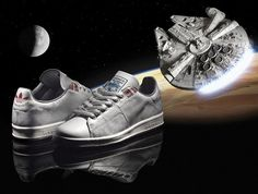 buy online d2305 c75d2 Love my Adidas Star Wars Millenium Falcon Stan Smiths but cant bring  myself to wear them.