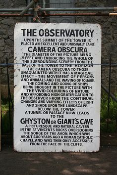The Observatory & Camera Obscura, Clifton Down