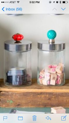 Easy and chic way to spruce up a jar
