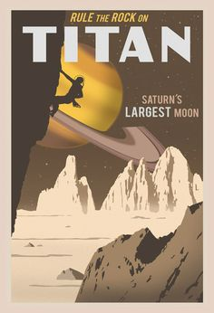 Titan Travel Poster