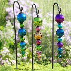 Glass Finial Ornament
