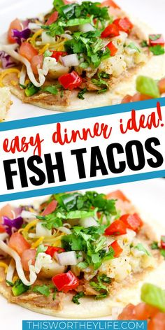 Get dinner on the table in 20 minutes with my easy Instant Pot Fish Tacos recipe. I'm sharing how I put this pollock fish tacos as a easy dinner idea. Easy Fish Recipes, Tilapia Recipes, Easy Chicken Recipes, Easy Dinner Recipes, Seafood Recipes, Mexican Food Recipes, Easy Meals, Healthy Recipes, Fish Crockpot Recipes