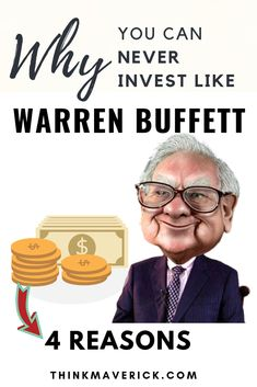 4 Reasons Why You Can Never Invest Like Warren Buffett - ThinkMaverick - My Personal Journey through Entrepreneurship Free Magazine Subscriptions, Books You Should Read, Financial Information, Warren Buffett, Buy Bitcoin, Safe For Work, Blockchain Technology, Starting Your Own Business