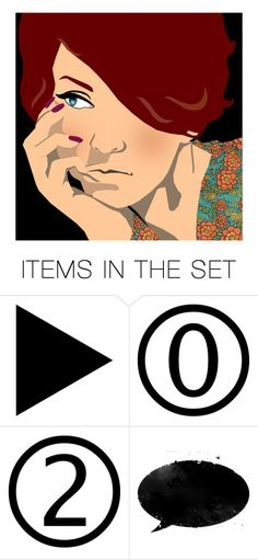 """""""Lost in thought..."""" by k-schrager ❤ liked on Polyvore featuring art"""