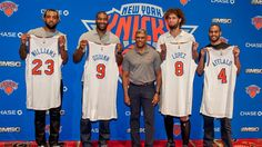 ny knicks 2015 | Preview 2015-16 : New York Knicks. It's not a great class, but it's a start. Plus they'll be better than people think.
