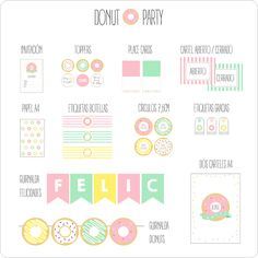 Image of DONUTS PARTY
