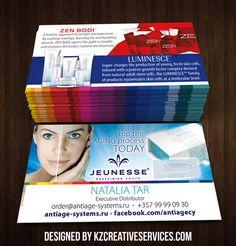 Jeunesse Business Cards style 5