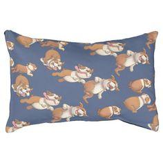 #Dancing Bulldogs Pet Bed - #bulldog #puppy #bulldogs #dog #dogs #pet #pets