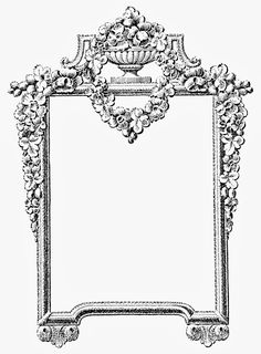 VintageFeedsacks: Ornamental Mirror